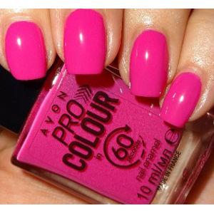 Avon Lak na nehty rychleschnoucí 3v1 - High Speed Pink
