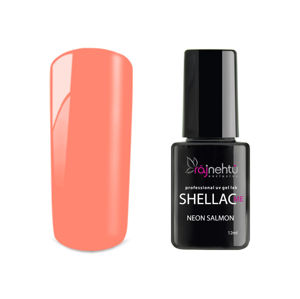 Ráj nehtů UV gel lak Shellac Me 12ml - Neon Salmon