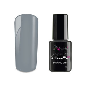 Ráj nehtů UV gel lak Shellac Me 12ml - Diamond Grey