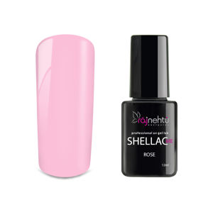 Ráj nehtů UV gel lak Shellac Me 12ml - Rose