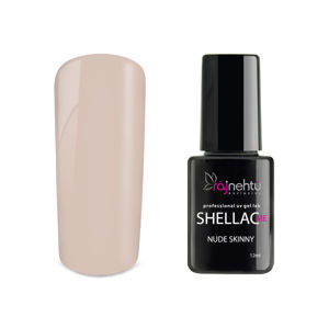 Ráj nehtů UV gel lak Shellac Me 12ml - Nude Skinny