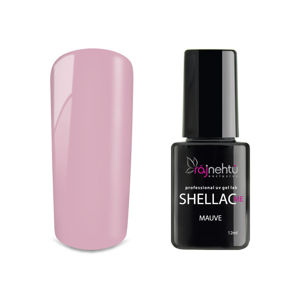 Ráj nehtů UV gel lak Shellac Me 12ml - Mauve