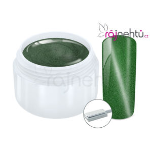 Ráj nehtů Fantasy line Ráj nehtů Barevný UV gel CAT EYE MAGNET - Green 5 ml