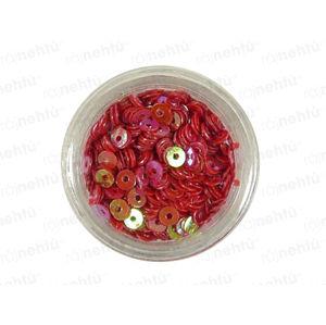 Zdobenie na nechty, kolieska (duté) CDčka - červené