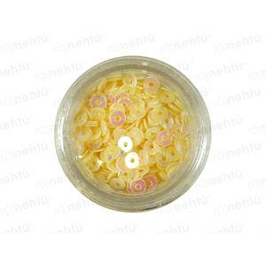 Zdobenie na nechty, kolieska (duté) CDčka - krémové