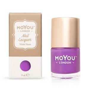 MoYou Pečiatkovací lak na nechty - Violet Haze 9 ml
