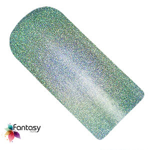 Fantasy nails UV gél lak Fantasy Holographic 12ml - Blue