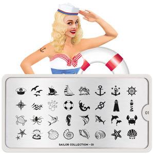 Image doštička MoYou Sailor 01