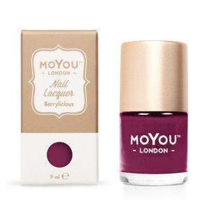 MoYou Pečiatkovací lak na nechty - Berrylicious 9 ml