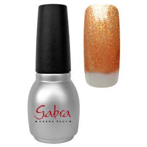 CEDRO  sole GABRA gél lak All in One - Bronzový glitter